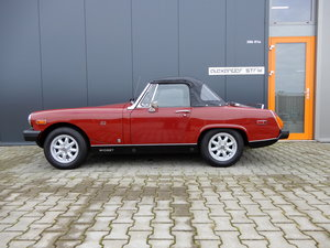 MG Midget Carmine red unique quality