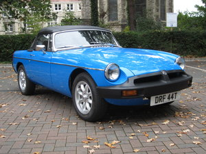 Picture of 1979 MGB Roadster in Stunning, Totally Restored Condition