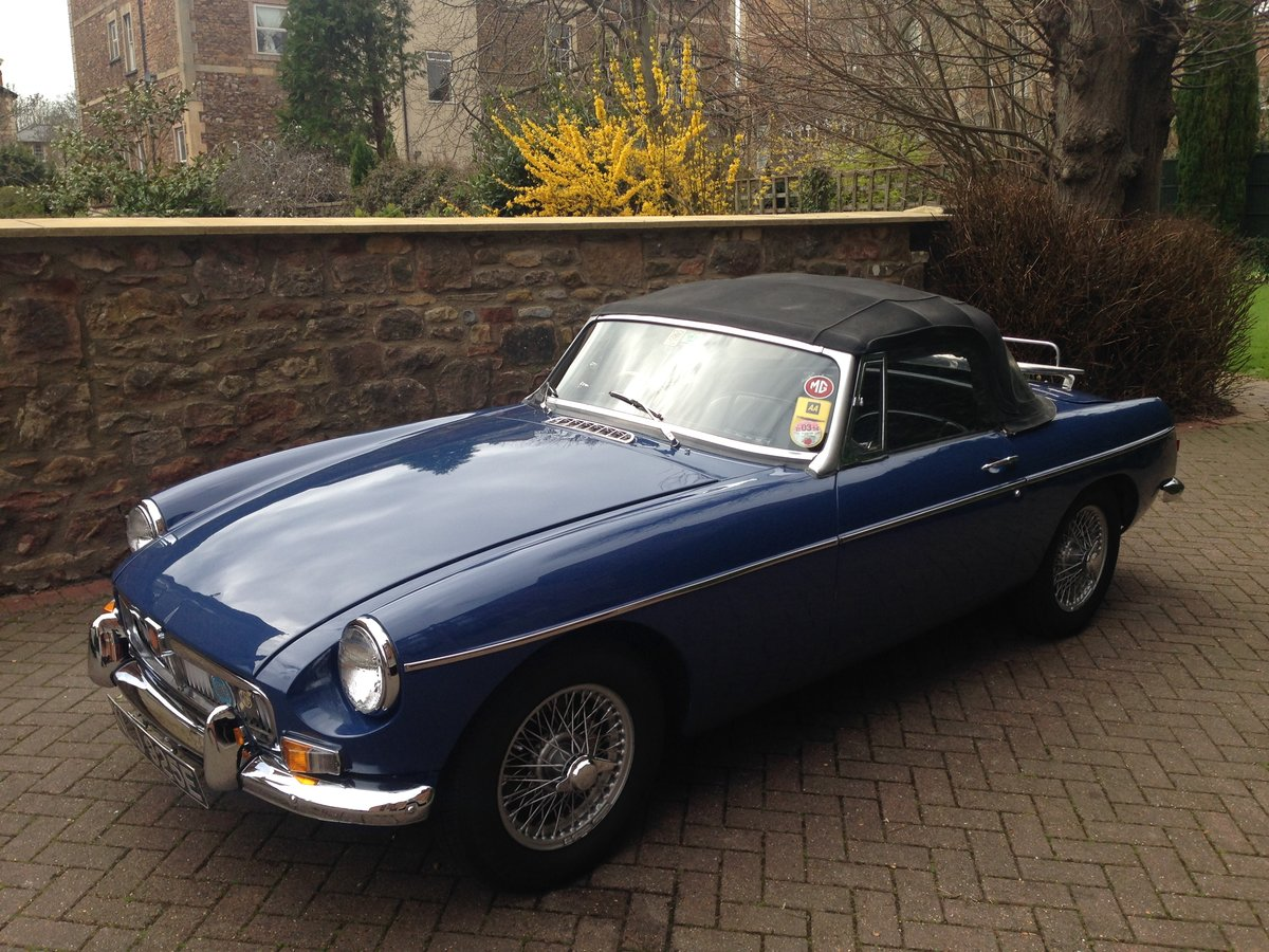1967 MGB Roadster For Sale (picture 2 of 5)