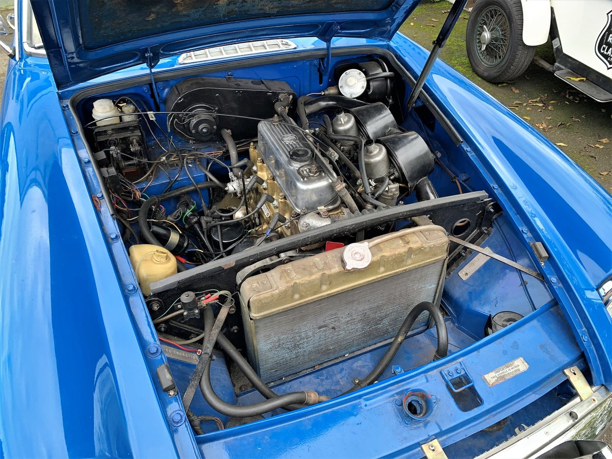MG B GT- 1972 For Sale (picture 6 of 6)