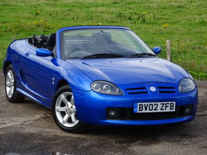 Picture of 2002 MG TF Trophy Blue SOLD