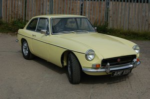Picture of 1969 MK2 MG MGB GT MGBGT CHROME BUMPER