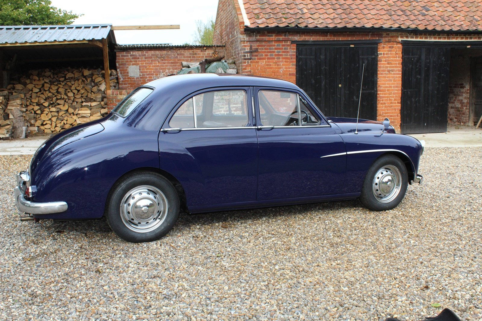 1955 Beautiful MG ZA Magnette in midnight blue. SOLD (picture 6 of 6)