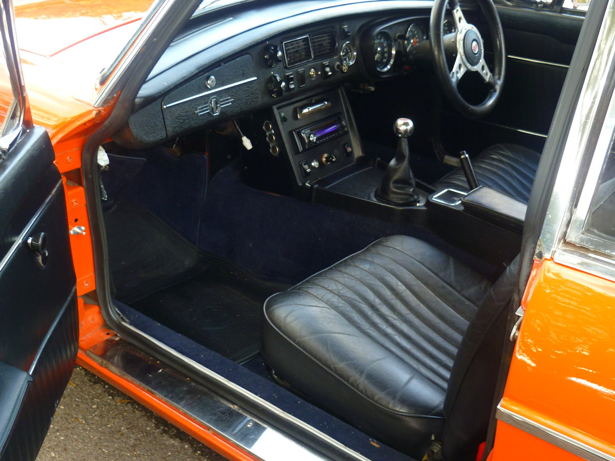 1972 MGB GT  Blaze For Sale (picture 1 of 6)