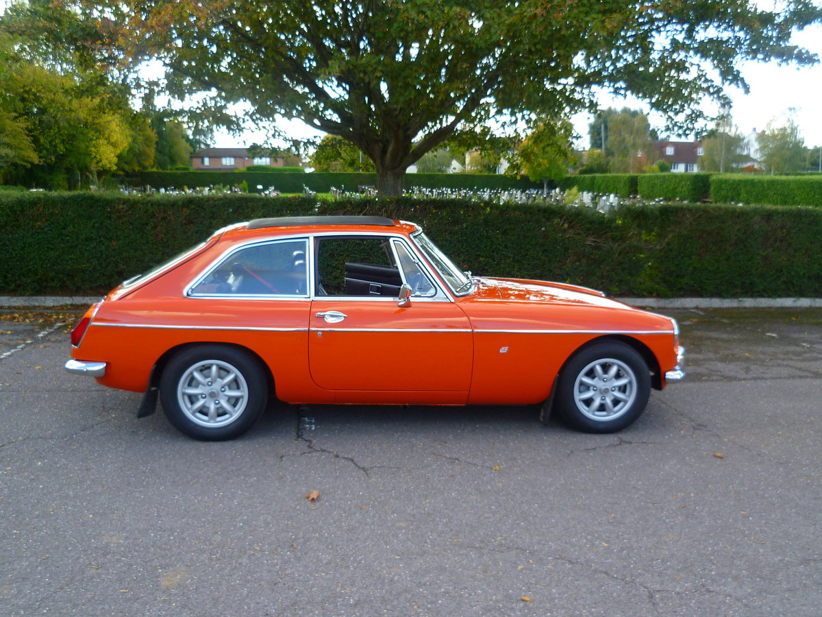 1972 MGB GT  Blaze For Sale (picture 2 of 6)