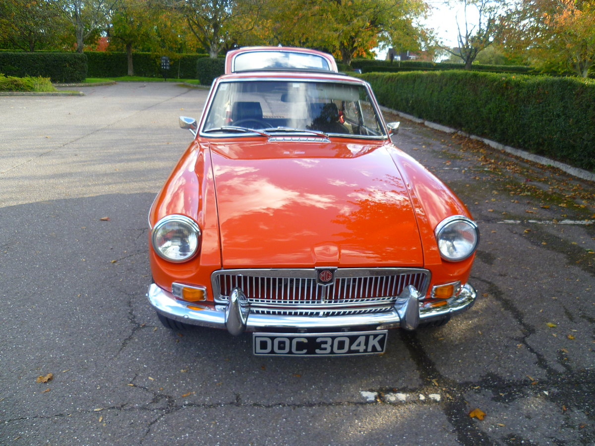 1972 MGB GT  Blaze For Sale (picture 3 of 6)