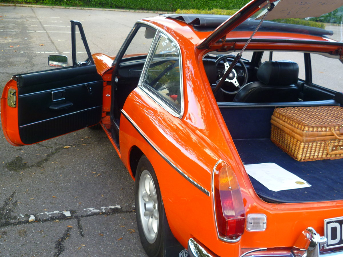 1972 MGB GT  Blaze For Sale (picture 5 of 6)