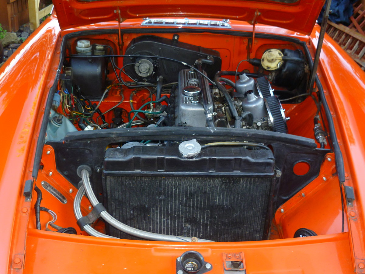 1972 MGB GT  Blaze For Sale (picture 6 of 6)
