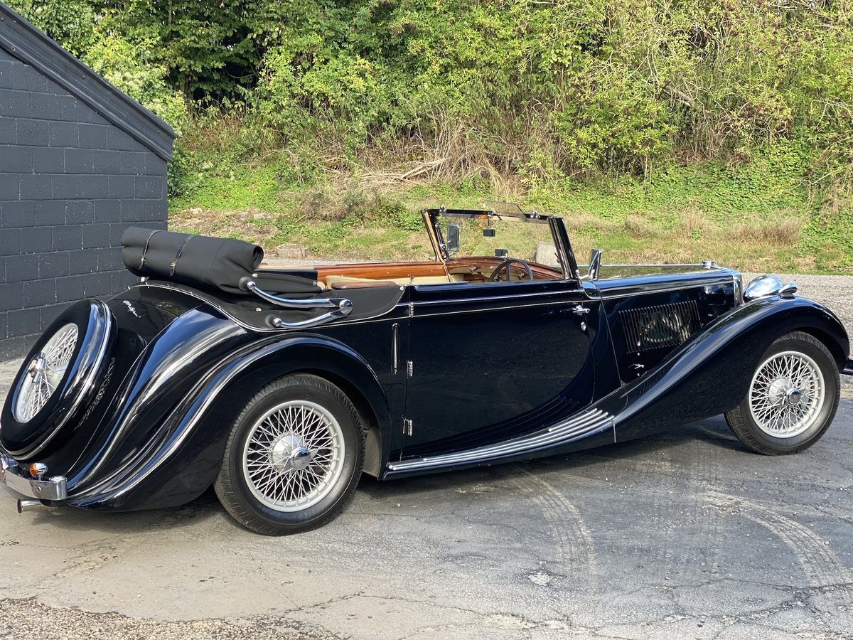 1938 MG SA Tickford Drop Head Coupe - Fine Example For Sale (picture 1 of 24)