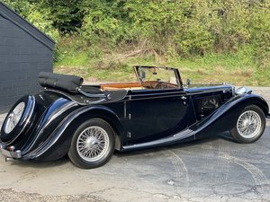 1938 MG SA Tickford Drop Head Coupe - Fine Example