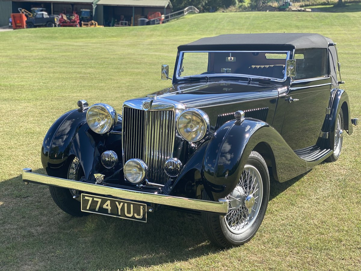 1938 MG SA Tickford Drop Head Coupe - Fine Example For Sale (picture 2 of 24)