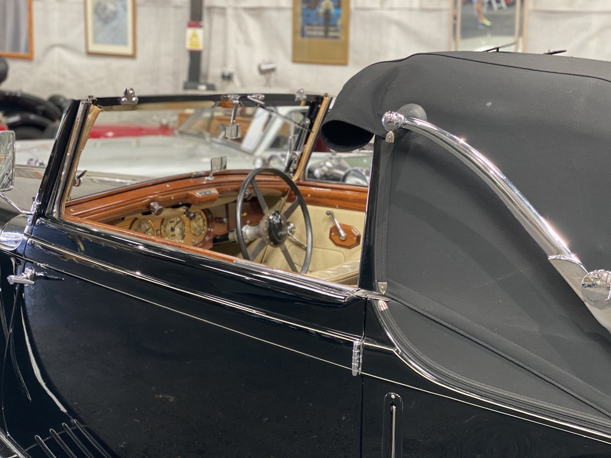 1938 MG SA Tickford Drop Head Coupe - Fine Example For Sale (picture 9 of 24)