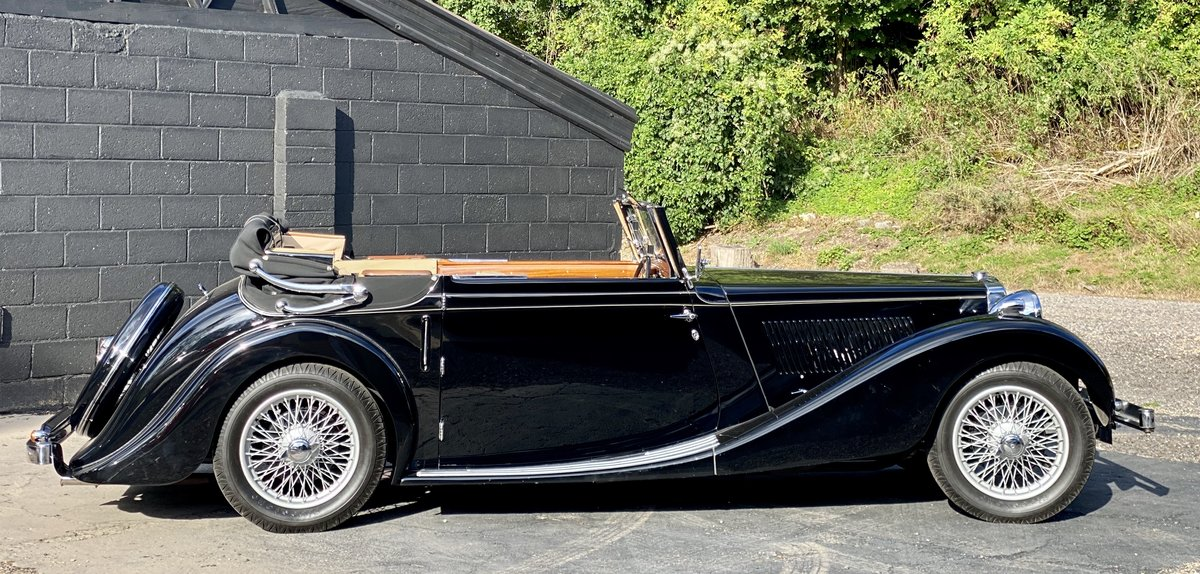 1938 MG SA Tickford Drop Head Coupe - Fine Example For Sale (picture 12 of 24)