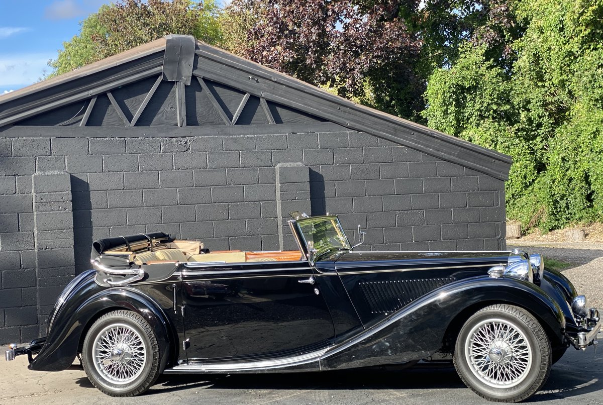 1938 MG SA Tickford Drop Head Coupe - Fine Example For Sale (picture 14 of 24)