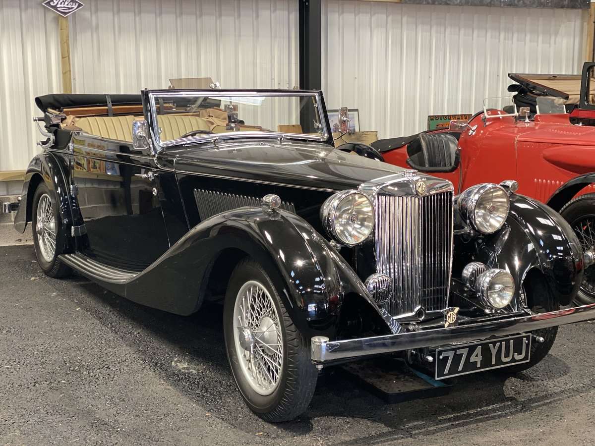 1938 MG SA Tickford Drop Head Coupe - Fine Example For Sale (picture 15 of 24)