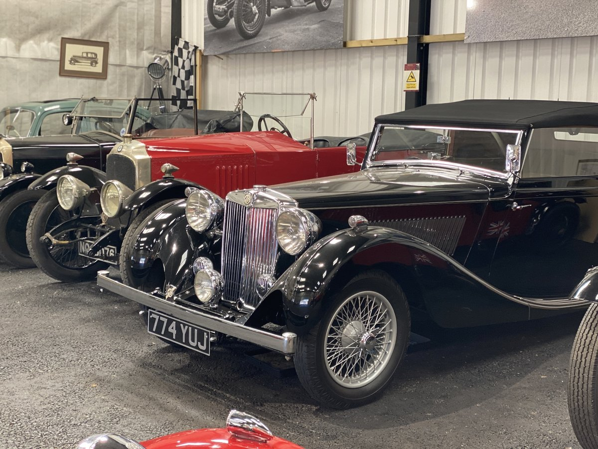 1938 MG SA Tickford Drop Head Coupe - Fine Example For Sale (picture 24 of 24)