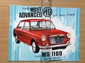 MINT CONDITION Mini SALES BROCHURE