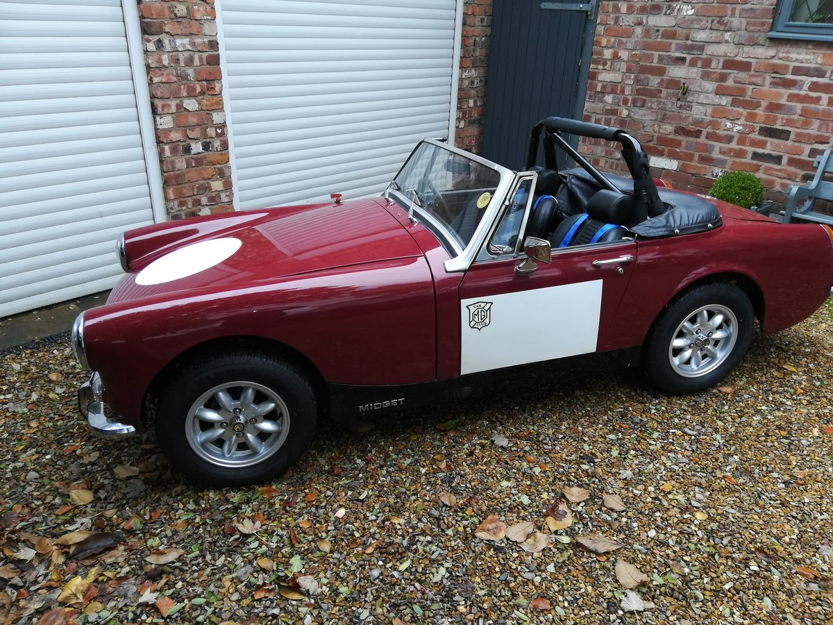1974 MG Midget Competition Car For Sale (picture 1 of 6)