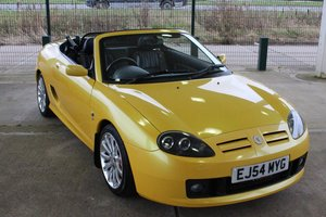 Picture of 2004 MGF MGTF Monogram Sunspot Yellow ,Warranty RAC