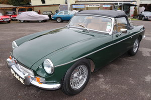 Picture of 1967 MGB HERITAGE SHELL in BRG For Sale