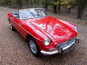 Picture of MGB Roadster AUTOMATIC 1971 Heritage Shell Rebuild