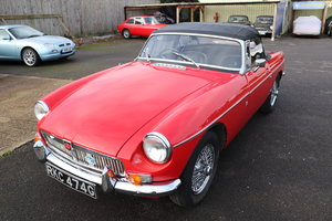 MGB Roadster MK2, Chrome wires
