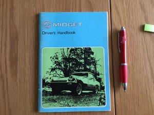 Picture of 1977 MG Midget drivers handbook SOLD