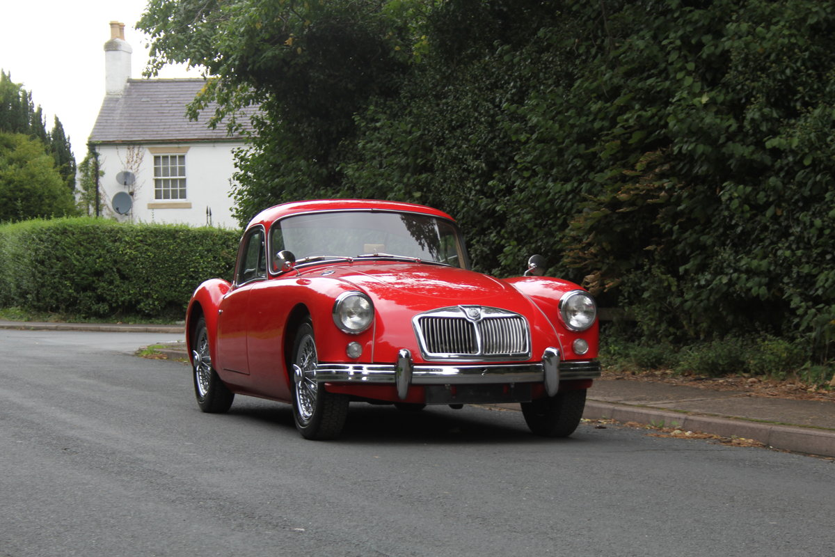 1957 MG A 1500 MkI Coupe For Sale (picture 1 of 16)