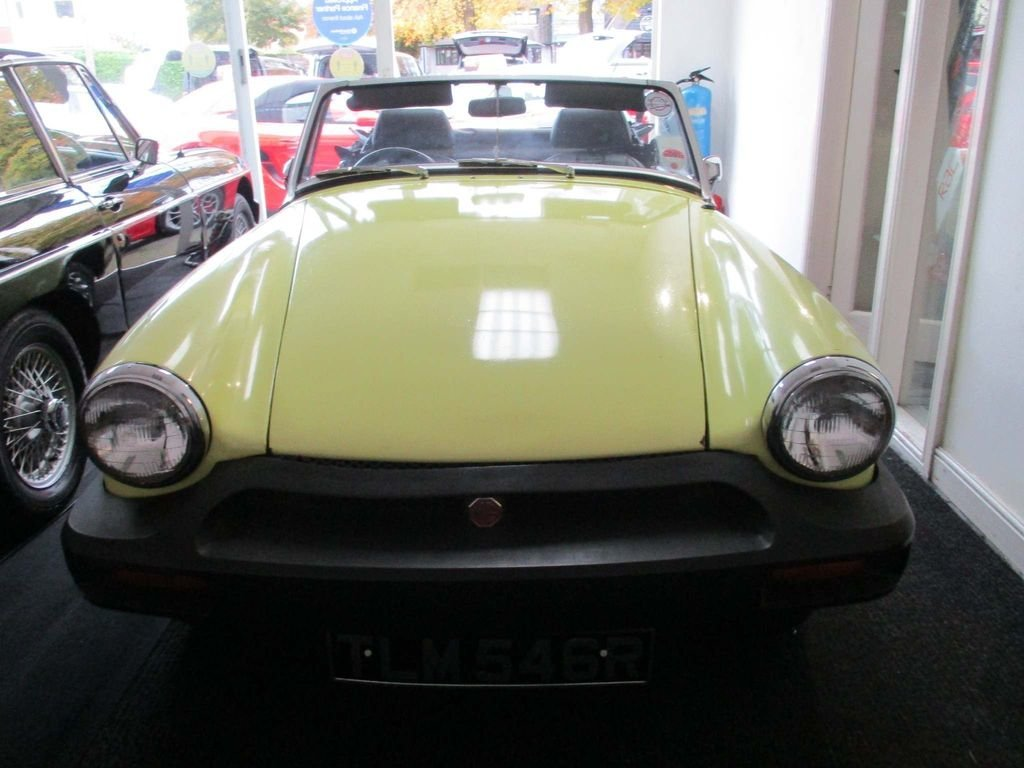 Picture of MG Midget 1500cc 1977.