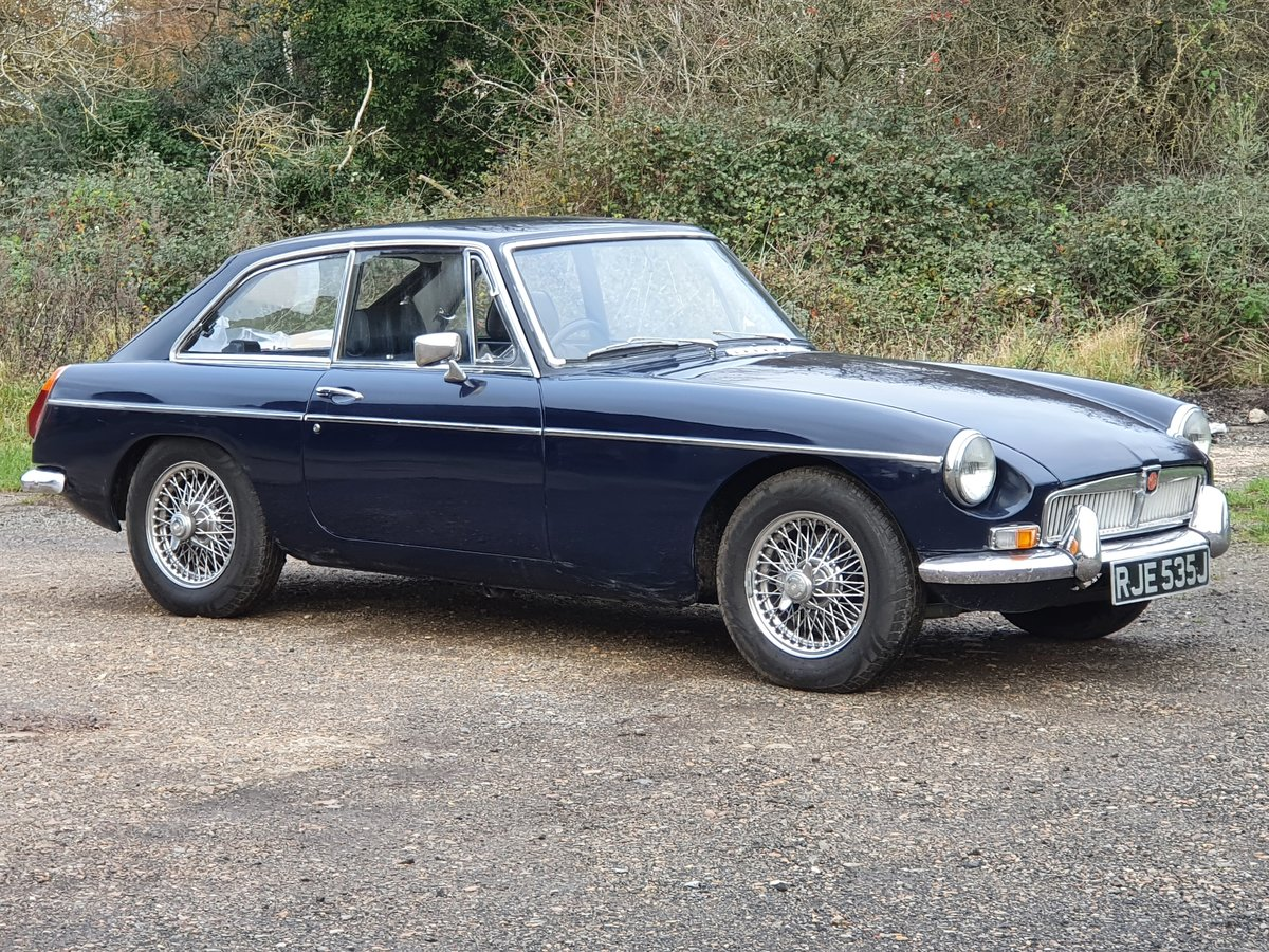 MG B GT, 1971, Midnight Blue For Sale (picture 1 of 4)