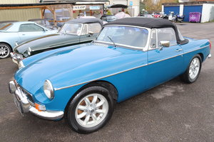 Picture of 1973 MGB Roadster in Teal Blue For Sale