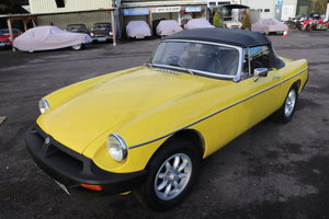 Picture of 1981 MGB Roadster in Snapdragon, 2 owners from new, Full history SOLD