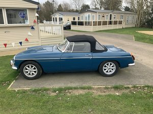 MGB convertible 94000 miles £7500
