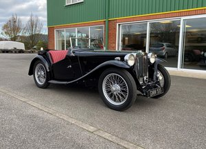 Superb Fully Restored 1938 MGTA RHD