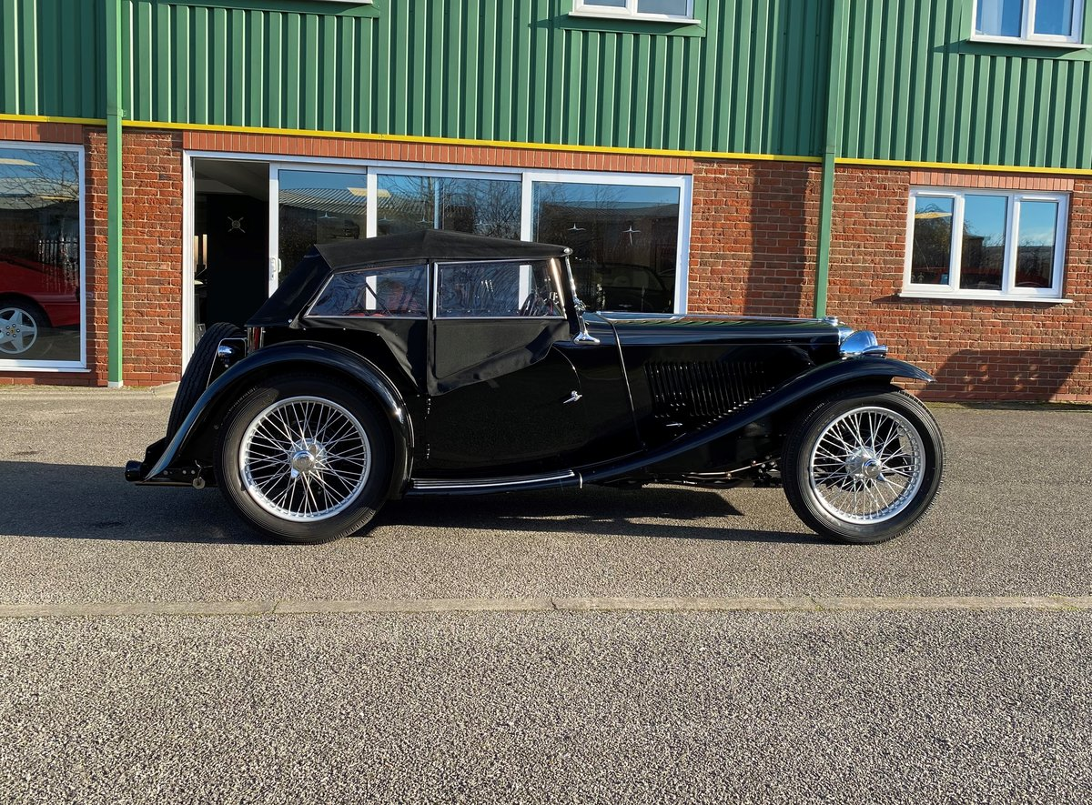 Superb Fully Restored 1938 MGTA RHD For Sale (picture 2 of 12)
