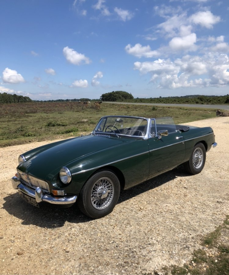 MGB Roadster with overdrive