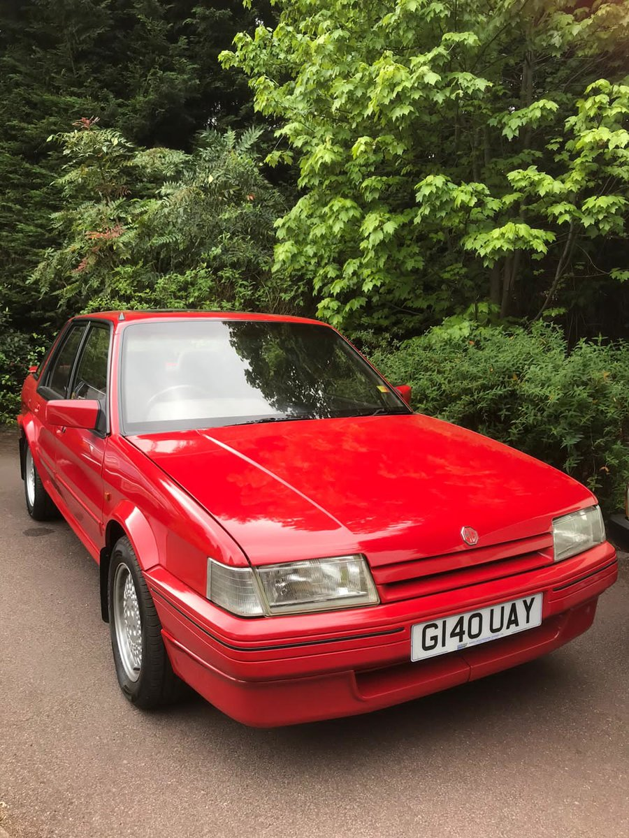 1989 MG MONTEGO 2.0 EFi 66,000 TOTAL MINT UNRESTORED For Sale (picture 4 of 6)