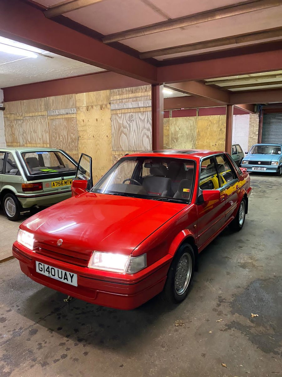 1989 MG MONTEGO 2.0 EFi 66,000 TOTAL MINT UNRESTORED For Sale (picture 5 of 6)