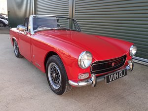 Picture of 1970 MG Midget MKIII restored using Heritage shell