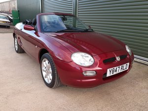 Picture of 2001 MGF finished in Copperleaf red, extremely low mileage For Sale