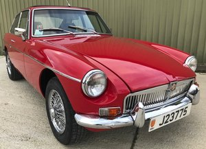 MGB GT restored, Auto, Oselli Stage 2 Engine, LHD for Europe