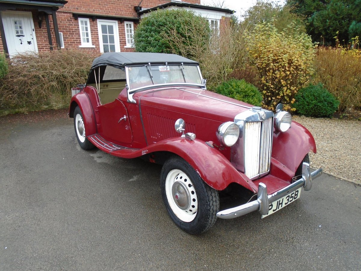 1953 MG TD for Sale - Matching Numbers SOLD (picture 1 of 6)