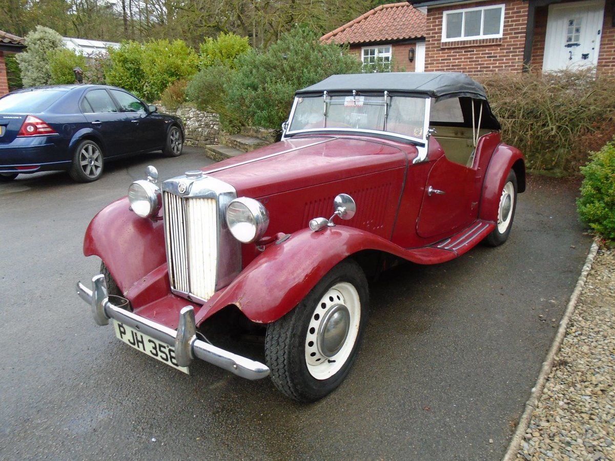 1953 MG TD for Sale - Matching Numbers SOLD (picture 2 of 6)
