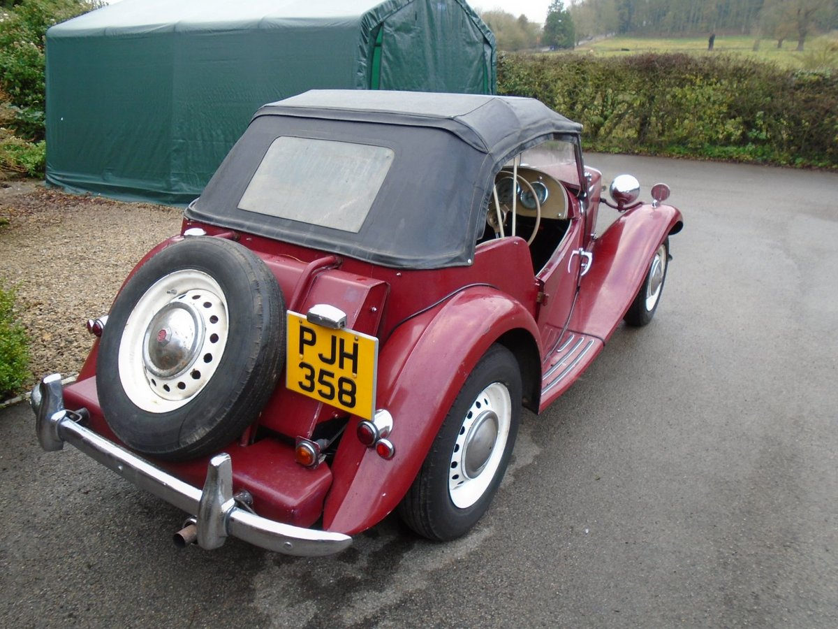 1953 MG TD for Sale - Matching Numbers SOLD (picture 3 of 6)