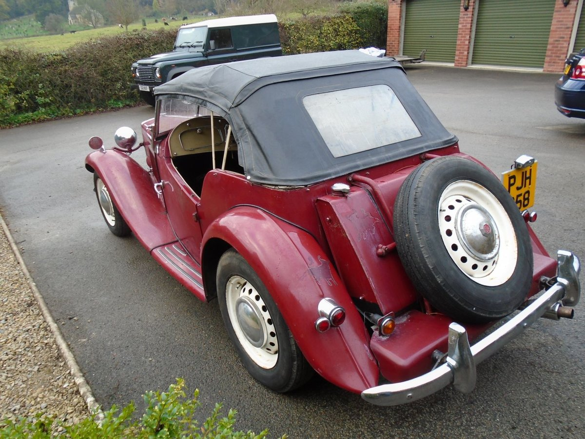 1953 MG TD for Sale - Matching Numbers SOLD (picture 4 of 6)