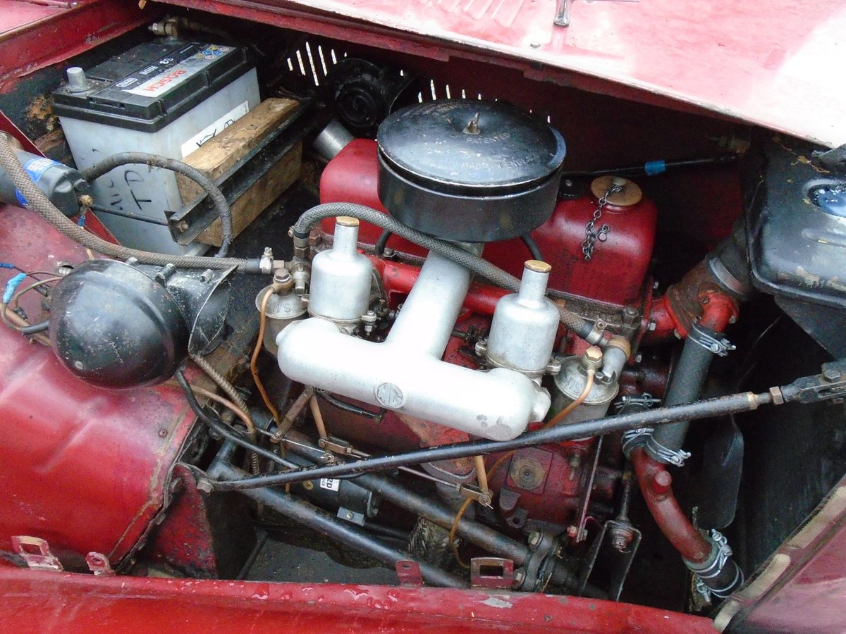 1953 MG TD for Sale - Matching Numbers SOLD (picture 5 of 6)