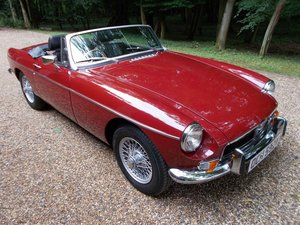 MGB Roadster 1974 Older Restoration