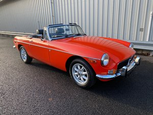 Picture of 1974 M MG B 1.8 ROADSTER, RARE US PROTOTYPE CAR SOLD