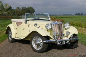 MG TD Roadster in original condition