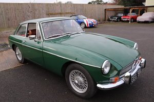 Picture of 1972 MGB GT Restored in BRG,Wires and overdrive SOLD